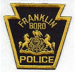 Franklin Boro Police Patch (state seal) (PA)