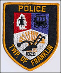 Franklin Twp. 1820 Police Patch (shield shape) (NJ)