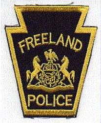Freeland Police Patch (PA)