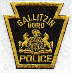 Gallitzin Boro Police Patch (PA)