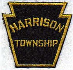Harrison Township Police Patch (twill)(PA)
