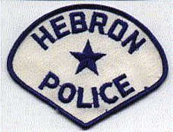 Hebron Police Patch (PA)