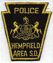 Hempfield Area S.D. Police Patch (PA)