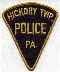 Hickory Twp. Police Patch (PA)