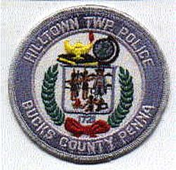 Hilltown Twp. Police Patch (round) (PA)