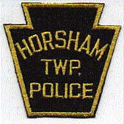 Horsham Twp. Police Patch (keystone, twill) (PA)