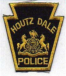 Houtz Dale Police Patch (PA)