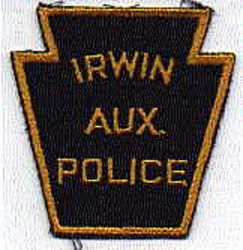 Irwin Aux. Police Patch (PA)
