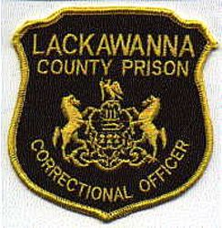 Lackawanna Co. Prison Corr. Officer Patch (PA)
