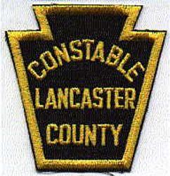 Lancaster Co. Constable Patch (PA)