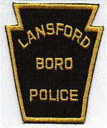 Lansford Boro Police Patch (PA)