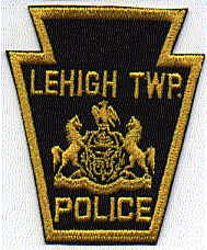 Lehigh Twp. Police Patch (PA)
