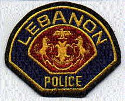 Lebanon Police Patch (large)(PA)