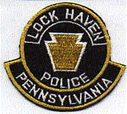 Lock Haven Police Patch (PA)