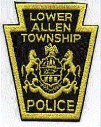 Lower Allen Twp. Police Patch (cut edge) (PA)