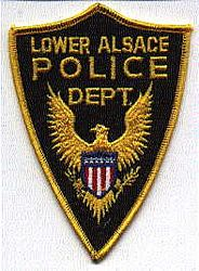 Lower Alsace Police Patch (PA)