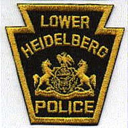 Lower Heidelberg Police Patch (PA)