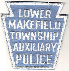 Lower Makefield Twp. Aux. Police Patch (PA)