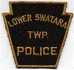 Lower Swatara Twp. Police Patch (black/gold, keystone) (PA)