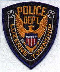 Luzerne Twp. Police Patch (PA)