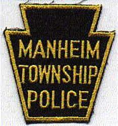 Manheim Twp. Police Patch (black/gold) (PA)