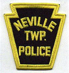 Neville Twp. Police Patch (merrowed edge) (PA)