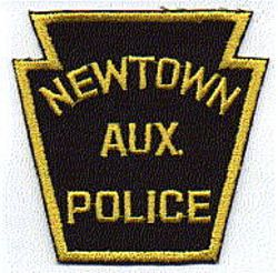 Newtown Aux. Police Patch (PA)