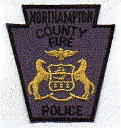 Northampton Co. Fire Police Patch (PA)