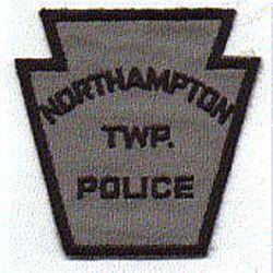 Northampton Twp. Police Patch (gray) (PA)