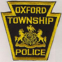 Oxford Twp. Police Patch (PA)