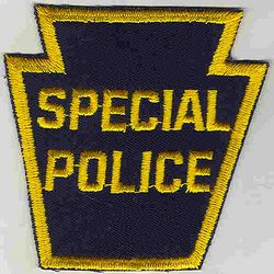 Special Police Patch (keystone) (PA)