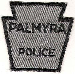 Palmyra Police Patch (small) (PA)