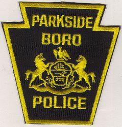 Parkside Boro Police Patch (PA)