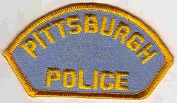 Pittsburgh Police Patch (small shoulder patch) (PA)