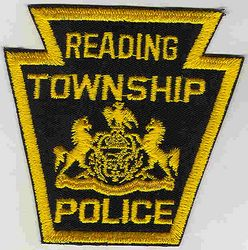 Reading Twp. Police Patch (PA)