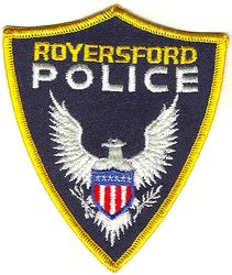 Royersford Police Patch (PA)