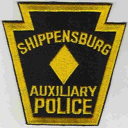 Shippensburg Aux. Police Patch (PA)
