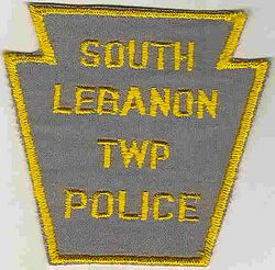 South Lebanon Twp. Police Patch (PA)