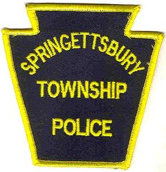 Springettsbury Twp. Police Patch (PA)