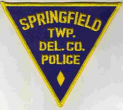 Springfield Twp. Del. Co. Police Patch (PA)