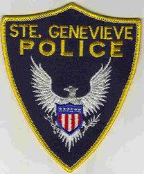 Ste. Genevieve Police Patch (PA)