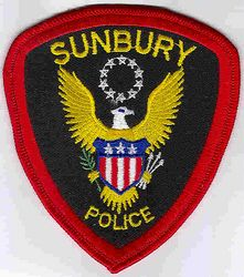 Sunbury Police Patch (PA)