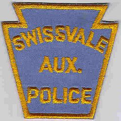 Swissvale Aux. Police Patch (PA)