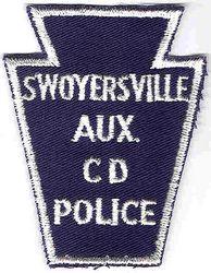 Swoyersville Aux. CD Police Patch (PA)