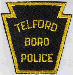 Telford Boro Police Patch (twill) (PA)