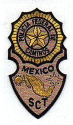 Foreign: Mexico, Police of Caminos SCT Patch