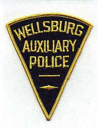 Wellsburg Aux. Police Patch (WV)
