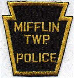 Mifflin Twp. Police Patch (PA)