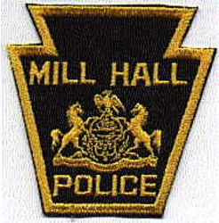 Mill Hall Police Patch (PA)