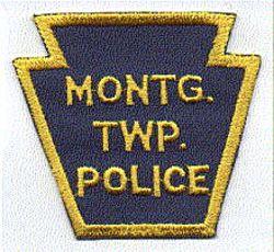 Montgomery Twp. Police Patch (keystone shape) (PA)